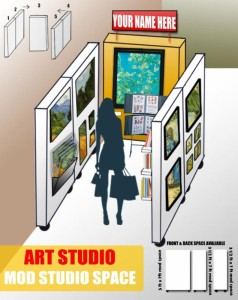 "Visualize creating, developing, & marketing your artistry with this ""spectacular"" layout in the heart of DC"